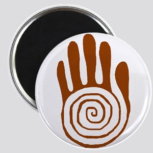 Sacred Hand in Brown on Magnet