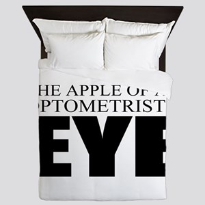 Optometrist Queen Duvet