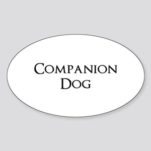 Companion Dog Sticker