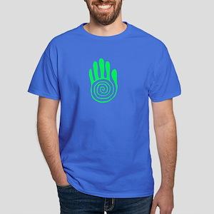 Sacred Hand in Green Dark T-Shirt