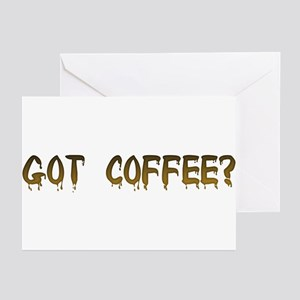 Caffeinated! Greeting Cards (Pk of 10)