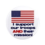 "Troops & Mission 3.5"" Button"