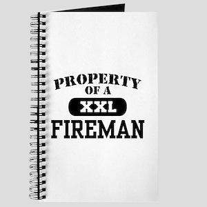 Property of a Fireman Journal