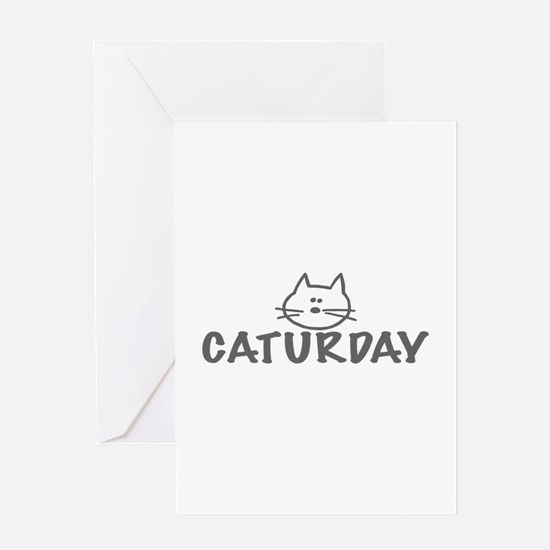 Caturday Greeting Card