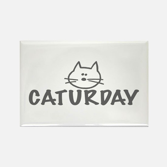 Caturday Rectangle Magnet (10 pack)
