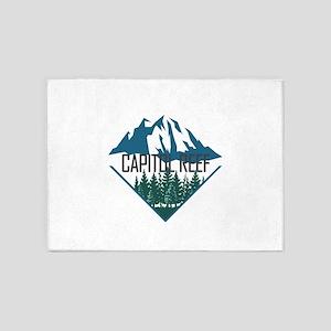 Capitol Reef - Utah 5'x7'Area Rug