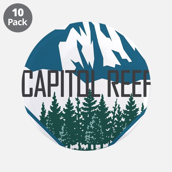 "Capitol Reef - Utah 3.5"" Button (10 pack)"