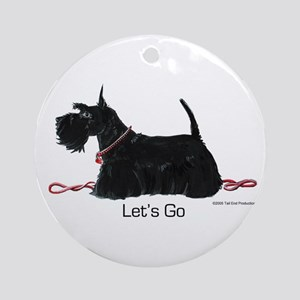 Scottie Let's Go! Ornament (Round)