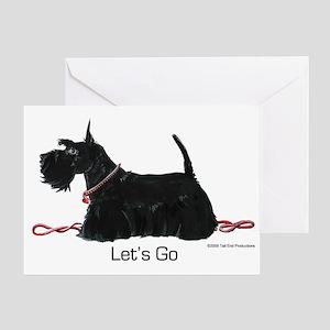 Scottie Let's Go! Greeting Card
