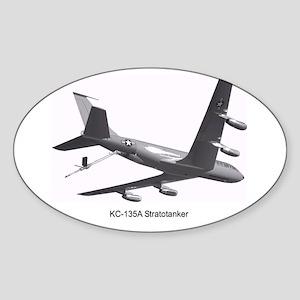 KC-135 Stratotanker Oval Sticker