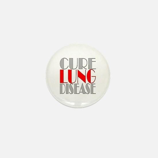 Cure Lung Disease Mini Button