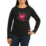 Savvy Auntie Long Sleeve Dark T-Shirt