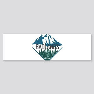 Badlands - South Dakota Bumper Sticker