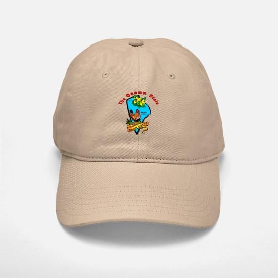 """Rhode Island Pride"" Baseball Baseball Cap"