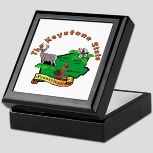 """Pennsylvania Pride"" Keepsake Box"