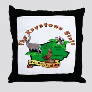 """""""Pennsylvania Pride"""" Throw Pillow"""