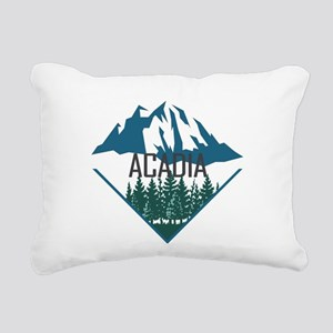 Acadia - Maine Rectangular Canvas Pillow