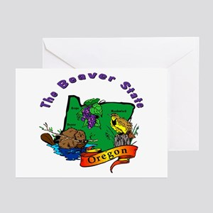 """Oregon Pride"" Greeting Cards (Pk of 20)"