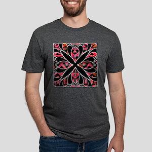 Tribal Tuxedo - Noir Abstract T-Shirt