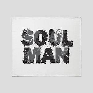 Soul Man Throw Blanket