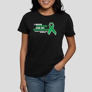 CP: Green For Grandson Women's Dark T-Shirt
