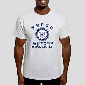 Proud US Navy Aunt Women's Light T-Shirt