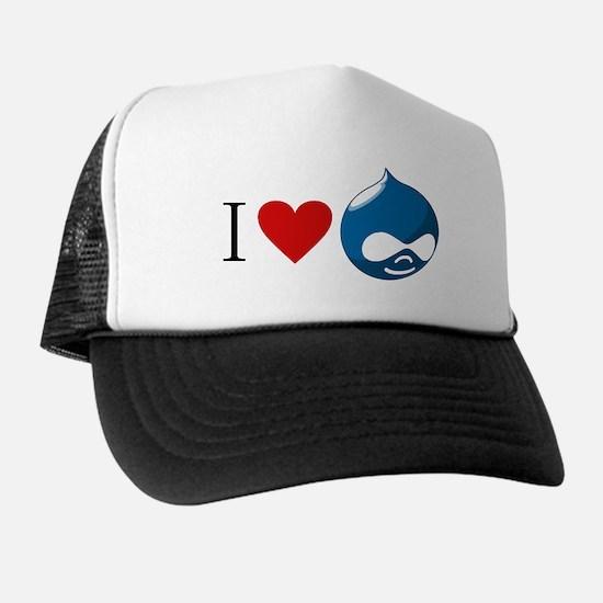 I Heart Drupal Trucker Hat