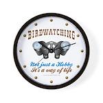 Birdwatching Way of Life Wall Clock