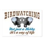 Birdwatching Way of Life Postcards (Package of 8)