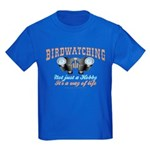 Birdwatching Way of Life Kids Dark T-Shirt