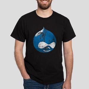 Drupal Grunge Dark T-Shirt