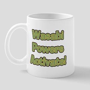 Wasabi Powers Mug
