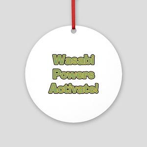 Wasabi Powers Ornament (Round)