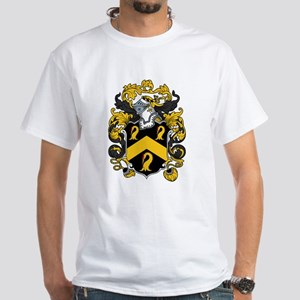 Godfrey Family Crest White T-Shirt