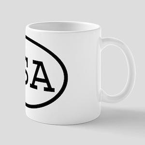 QSA Oval Mug