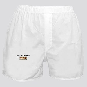 My Lucky Shirt Boxer Shorts