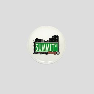 SUMMIT ST, BROOKLYN, NYC Mini Button