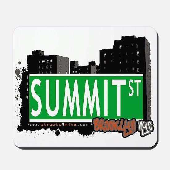 SUMMIT ST, BROOKLYN, NYC Mousepad