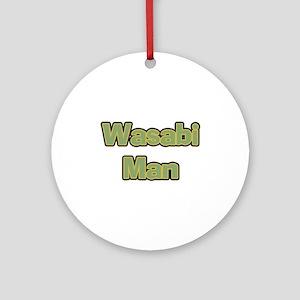 Wasabi Man Ornament (Round)