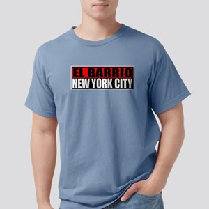 El Barrio New York City Ash Grey T-Shirt