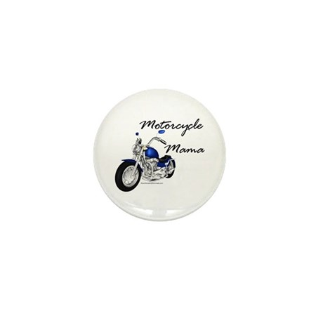 Motorcycle Mama Mini Button