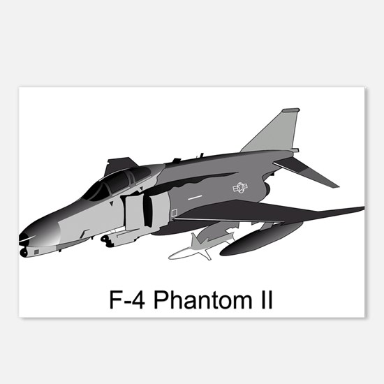 F-4 Phantom II Postcards (Package of 8)