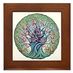 Tree Of Life Spring Framed Tile