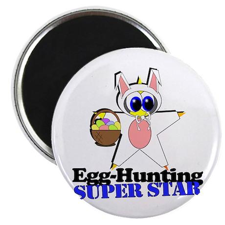 """Easter Super Star 2.25"""" Magnet (10 pack)"""