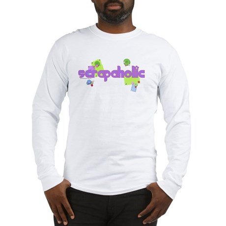 Scrapaholic Long Sleeve T-Shirt