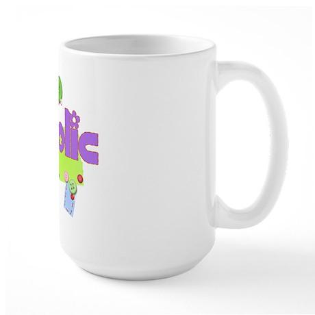 Scrapaholic Large Mug