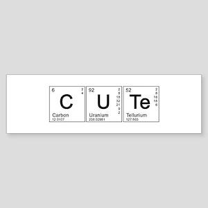 Cute Periodic Bumper Sticker