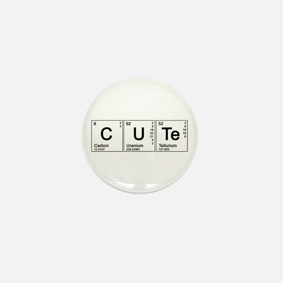 Cute Periodic Mini Button
