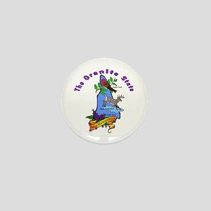 """""""New Hampshire Pride"""" Mini Button"""
