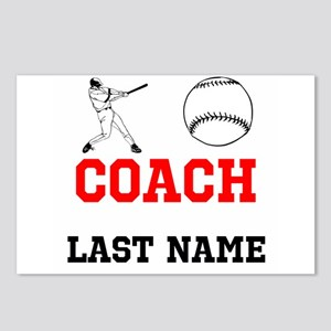 Baseball Coach Postcards (Package of 8)